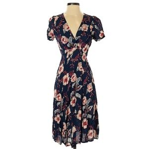 Loco Lindo Floral Dress Small